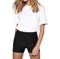 IVYREVEL Damen Rib Shorts Bekleidung