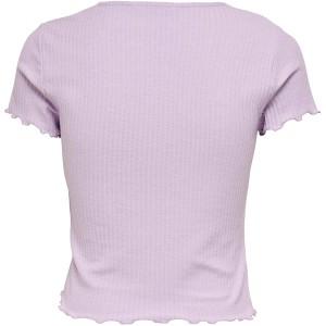 ONLY Damen Onlemma S S Short Top Noos JRS T-Shirt Bekleidung