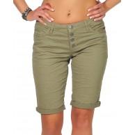 Stitch & Soul Damen Bermuda Shorts LSS-091 LSL-399 Kurze Sommer-Hose Bekleidung