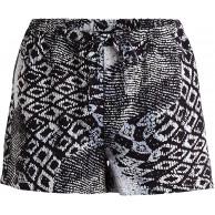 Vila Clothes Damen Vismay Short Mehrfarbig Black Iris AOP 40 Herstellergröße L Bekleidung