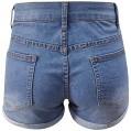 Weant Hosen Damen Jeans Stretch mit Löchern Kurze Hosen Sommer Jeans Bermuda Shorts Sexy Hotpants Jeanshosen Denim Shorts Jeansshorts Freizeitshorts Bekleidung