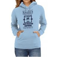Australian Shepherd Premium Hoody | Glück | Sprüche-Shirt | Haustier | Frauen | Kapuzenpullover Bekleidung