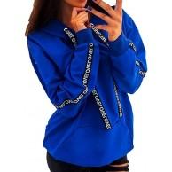 Damen Kapuzenpullover Übergröße Oversize Langarm Sweatshirt mit Kapuze Tops Shirt Oberteile Casual Mädchen Athletic Solidr Herbstpullover Classic URIBAKY Bekleidung