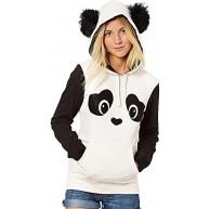 Jinglive Damen Unique Niedlich Panda Sweatshirt Hoodie Kapuzenjacke Jumper mit Ohren mit Kapuze Pullover Tops Bekleidung