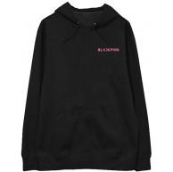JLTPH Blackpink Hoodies Samt Kapuzenpullover Kpop Hip Hop Tops Sweatshirt Lässige Letters Drucken Pullover Langarmshirts Bekleidung