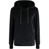OXMO Nimma Damen Kapuzenpullover Hoodie Pullover mit Kapuze Bekleidung