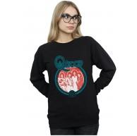 Absolute Cult Queen Damen Vintage Band Photo Sweatshirt Schwarz Medium Bekleidung