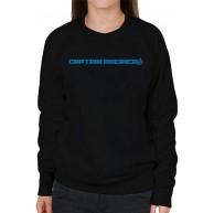 Marvel Captain America Avengers Logo Women's Sweatshirt Bekleidung