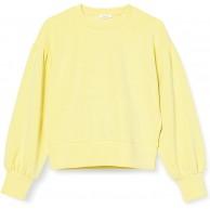 OPUS Damen Gonny Sweatshirt Fresh Lemon 38 Bekleidung
