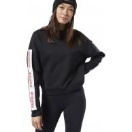 Reebok Damen Linear Logo Crew Sweatshirt Bekleidung