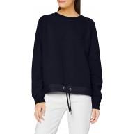 s.Oliver Damen 120.10.012.14.140.2059664 Sweatshirt Blau S Bekleidung