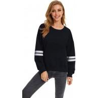 SMENG Frauen Casual Fashion Pullover Plüsch Kleidung Herbst Langarm Loose Fit Sweater Bekleidung
