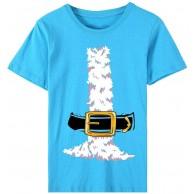 Damen Weihnachten Kurzarm Übergröße T-Shirts Mode Einfach Weihnachtsstiefel Muster Gedruckt Bluse Tops Rundhalsausschnitt Lose Casual Elegante Oberteile Hemdbluse Bekleidung