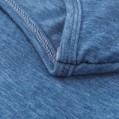 Eucoo Damen Lässig V-Ausschnitt Langarm Tasche Sweatshirt unifarben Tunika Bekleidung