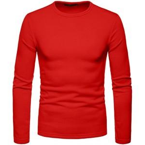 YONSIN Das Hemd Der WeihnachtsmäNner Rotes BeiläUfiges DIY NormallackrundhalslangäRmliges Strickjackehemdart Und Weisewildes Strickjackegrundlegendes T-Shirt Der GroßEn GrößE Bekleidung