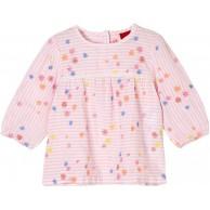 s.Oliver Unisex - Baby Bluse mit floraler Stickerei s.Oliver Bekleidung