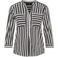 VERO MODA Female Hemd mit 3 4 Ärmeln Gestreiftes Bekleidung