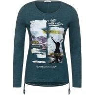 Cecil Damen Shirt mit Fotoprint Bekleidung