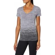 Odlo Damen Bl Top V-Neck S S Maia Seamless Shirt Bekleidung