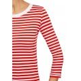 oodji Ultra Damen Langarm-T-Shirt Bekleidung