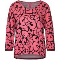 Street One Damen Shirt mit Printmix Bekleidung