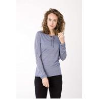 super.natural Damen Langarm Shirt Mit Merinowolle W RELAX LS Bekleidung