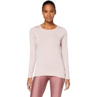 Under Armour Damen Ua Hg Armour Long Sleeve atmungsaktives Sportshirt mit Anti-Odor Technologie weiches und Komfortables Langarmshirt Bekleidung