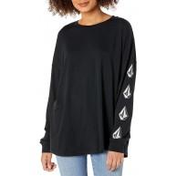 Volcom Damen Deadly Stones Ls Langärmliges Shirt Bekleidung