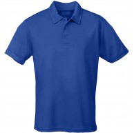 JUST COOL Polo Cool Blau Royal Blue L Bekleidung