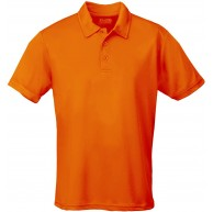 JUST COOL Polo Cool Orange Electric Orange S Bekleidung