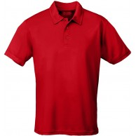 JUST COOL Polo Cool Rot Fire Red L Bekleidung