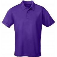 JUST COOL Polo Cool Violett Purple L Bekleidung