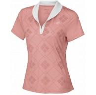 Wilson Damen T-Shirt Weiß Gr. XS S Rosa Weiß Bekleidung