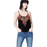 -Marke find. Damen Straight Cut-Jeans Schwarz Black 36 Label S Bekleidung