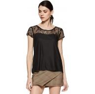 ONLY Damen T-Shirt Sammy S S Top WVN Bekleidung