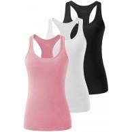Vislivin Tank-Top für Damen Training Racerback-Tank-Top Athletik Yoga Bekleidung