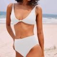 Generic Einfarbiger Split-Badeanzug für Damen in Sonderfarben Einfarbige Unterwäsche Badeanzuganzug eng Anliegende Bequeme Unterwäsche Einfarbige Slim-Fit-Unterwäsche Bekleidung