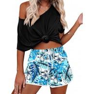 Kais Für G und Frauen Sommer Floral Beach Boardshorts mit Taschen Komfortabel Badehose Bekleidung