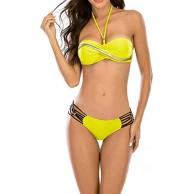 TeeTree Sexy Beachwear High Elasticity Frauen Sommer Bikini Bekleidung