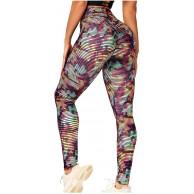 Vectry Damen Sport Leggings Hohe Taille Bauchkontrolle Yogahosen Sporthose Tights Hüftheben Jogginghose Skinny Stretch Strumpfhosen Fitnesshose Workout Laufen Yoga Athletic Pant Bekleidung