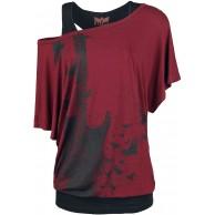 Black Premium by EMP When The Heart Rules The Mind T-Shirt schwarz grau Basics Casual Wear Bekleidung