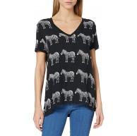 Desigual Damen Ts bokan T-Shirt Bekleidung