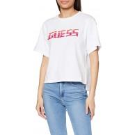 Guess Damen Ss Rn Paulina Tee T-Shirt Bekleidung