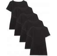 Maglev Essentials Damen T-Shirt mit V-Ausschnitt 3er und 5er Packs Bekleidung