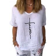 Minetom Damen Sommer Kurzarm Blusen T-Shirt Rundhals Loose Oversize Shirt Casual Pusteblume Bedruckt Oberteile Top Bekleidung