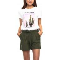 ONLY Damen Onllala Life Reg S S Top Box JRS T-Shirt Bekleidung