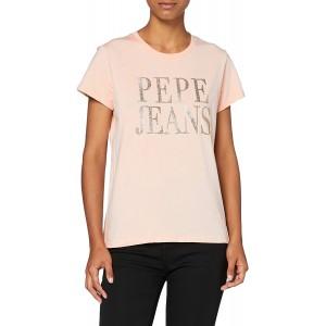 Pepe Jeans Damen T-Shirt Lucila Bekleidung