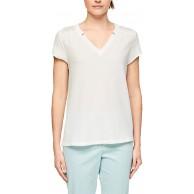s.Oliver BLACK LABEL Damen T-Shirt Bekleidung