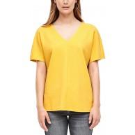 s.Oliver Damen Lockeres V-Neck-Shirt s.Oliver Bekleidung