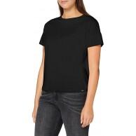 Scotch & Soda Damen Merzerisiertes Baumwoll T-Shirt Bekleidung
